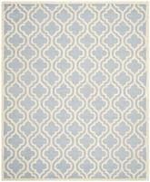 Safavieh Cambridge CAM132A Light Blue and Ivory