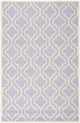 Safavieh Cambridge CAM132C Lavander and Ivory