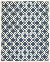 Safavieh Cambridge CAM132G Navy and Ivory