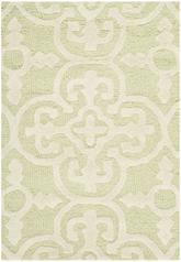 Safavieh Cambridge CAM133B Light Green and Ivory