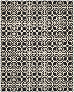 Safavieh Cambridge CAM133E Black and Ivory