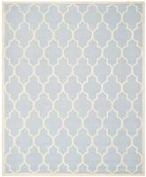 Safavieh Cambridge CAM134A Light Blue and Ivory