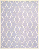 Safavieh Cambridge CAM134C Lavender and Ivory