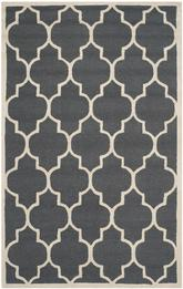 Safavieh Cambridge CAM134X Dark Grey and Ivory