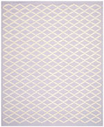 Safavieh Cambridge CAM137C Lavender and Ivory