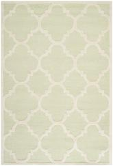 Safavieh Cambridge CAM140B Light Green and Ivory