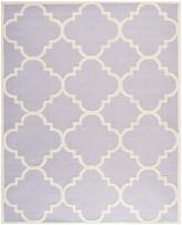 Safavieh Cambridge CAM140C Lavender and Ivory