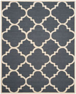 Safavieh Cambridge CAM140X Dark Grey and Ivory