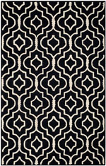 Safavieh Cambridge CAM141E Black and Ivory