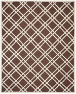 Safavieh Cambridge CAM142H Dark Brown and Ivory