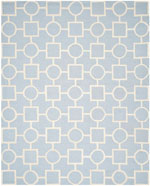 Safavieh Cambridge CAM143A Light Blue and Ivory