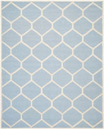 Safavieh Cambridge CAM144A Light Blue and Ivory