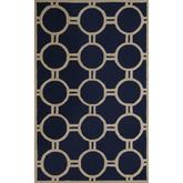 Safavieh Cambridge CAM145G Navy Blue and Ivory