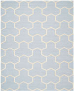 Safavieh Cambridge CAM146A Light Blue and Ivory