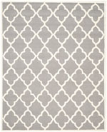 Safavieh Cambridge CAM312D Dark Grey and Ivory