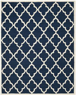 Safavieh Cambridge CAM312M Navy and Ivory