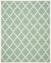 Safavieh Cambridge CAM312T Teal and Ivory