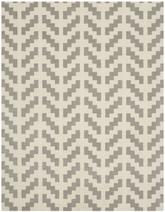 Safavieh Cambridge CAM322G Grey and Ivory