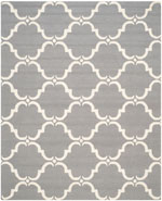 Safavieh Cambridge CAM703D Dark Grey and Ivory