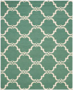 Safavieh Cambridge CAM703T Teal and Ivory