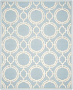 Safavieh Cambridge CAM721B Blue and Ivory