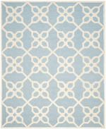 Safavieh Cambridge CAM722B Blue and Ivory