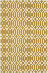 Safavieh Cedar Brook CDR141C Citron and Ivory