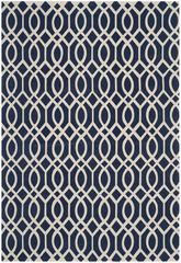 Safavieh Cedar Brook CDR141D Navy and Ivory