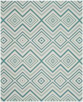 Safavieh Cedar Brook CDR142A Ivory and Light Teal