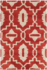 Safavieh Chatham CHT632B Orange and Ivory