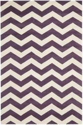 Safavieh Chatham CHT715F Purple and Ivory