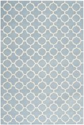 Safavieh Chatham CHT717B Blue and Ivory
