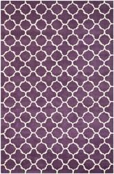 Safavieh Chatham CHT717F Purple and Ivory