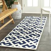 Safavieh Chatham CHT719C Dark Blue and Ivory