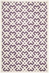 Safavieh Chatham CHT719F Purple and Ivory