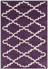 Safavieh Chatham CHT721F Purple and Ivory