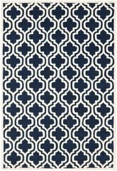 Safavieh Chatham CHT727C Dark Blue and Ivory