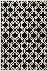 Safavieh Chatham CHT727K Black and Ivory