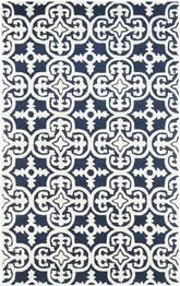 Safavieh Chatham CHT729C Dark Blue and Ivory