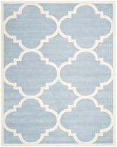 Safavieh Chatham CHT730B Blue and Ivory