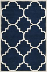Safavieh Chatham CHT730C Dark Blue and Ivory