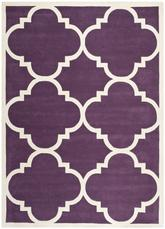 Safavieh Chatham CHT730F Purple and Ivory