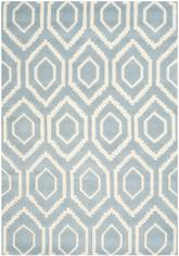 Safavieh Chatham CHT731B Blue and Ivory