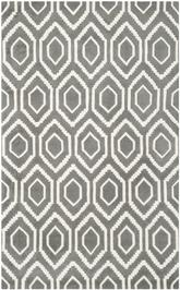 Safavieh Chatham CHT731D Dark Grey and Ivory