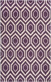 Safavieh Chatham CHT731F Purple and Ivory