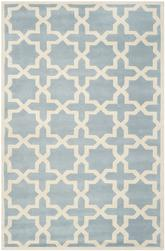 Safavieh Chatham CHT732B Blue and Ivory