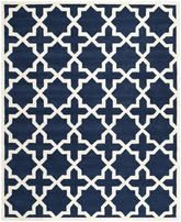 Safavieh Chatham CHT732C Dark Blue and Ivory
