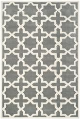 Safavieh Chatham CHT732D Dark Grey and Ivory