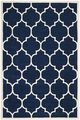 Safavieh Chatham CHT733C Dark Blue and Ivory