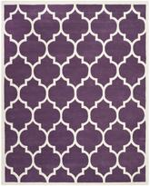 Safavieh Chatham CHT733F Purple and Ivory